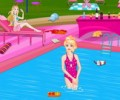 Barbie Pool Party Cleaning